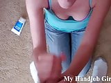 You need a handjob from a hot MILF like me JOI