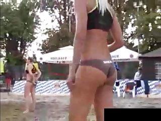 Teen Slut, Public Beach Spy