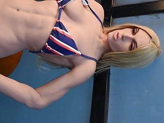 Milf sex doll muscle linda...