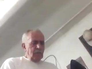 Turkish grandpa fucking boy