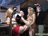 College party teens grinding and dancing