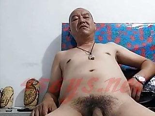 Chinese grandpa on cam