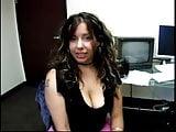 Nice Tit Latina Violet Sucks Big Cock