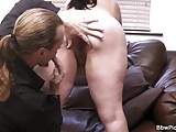 Picked up BBW loves sucking and riding his cock