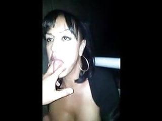 She is a very good transgender cocksucker