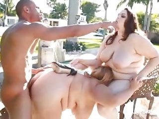 2 hot babes fuck latino hunk by the...