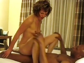 Wife having orgasms with black bull