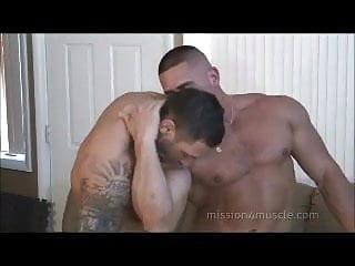 Gay bodybuilding sex...