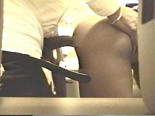 Secretary fucks boss and gets cum in pussy...