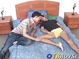 Charming bum buddy loves bouncing on thick schlong wildly