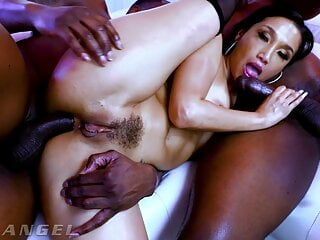 All Porn Tube EvilAngel - Sexy Latina Vicki Chase Gets DPed By 2 Monster Cocks Interracial xHamsters