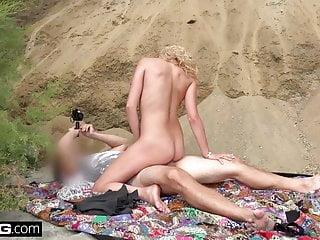 Sophia lux and sucks dick beach...