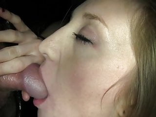Glory Hole Sexy Cumshot video: Sexy Nice Tits Girl Makes Shorty Premature Cum in 20 Seconds