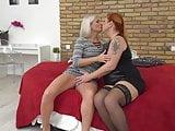 Lesbian girls going wild