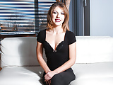 LETSDOEIT - Perfect Tight Pussy Pleasured During Audition