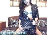 WebCam 2012 Polka Dot Shirt Girl