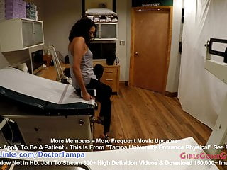 Yasmine Woods' Gyno Exam Caught On Hidden Cam By Doctor Tampa