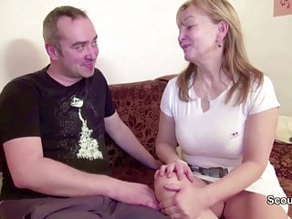 Hairy mom and dad in porn casting movie...