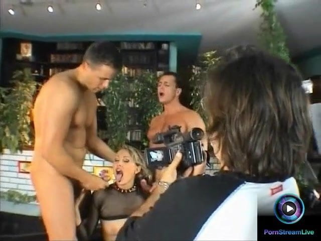Threesome Behind The Scenes
