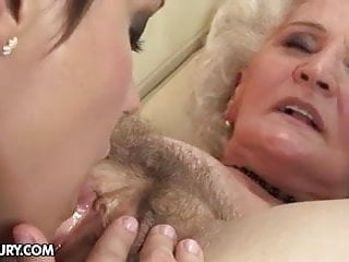 Granny with old fucks young girl...