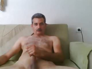 Arabian handsome daddy on webcam...