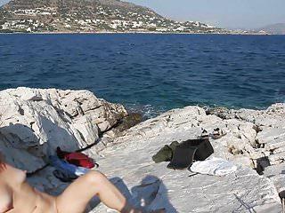 Greek voyer at limanakia...