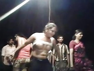 Indian village dance