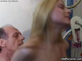 Cute Blonde Milf With Nice Big Rack Rides A Huge Cock On Leather