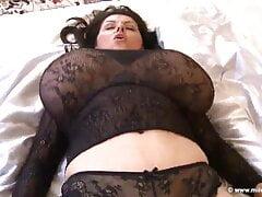 Milena in Black