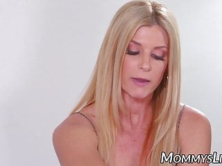 MILF blackmails sizzling stepdaughter into dyke intercourse along with her