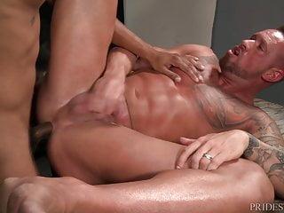 سکس گی ExtraBigDicks Large Meat Comes Out of Jock Strap 4 DILF Ass interracial  hd videos daddy  blowjob  big cock  anal