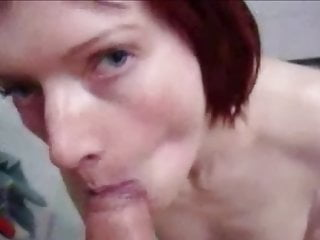 amateur Blowjob and facial 20 old clip