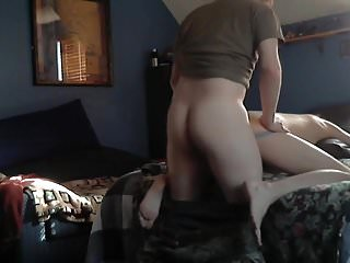 Ginger Amry Breeds Horny Bitch B4 Work