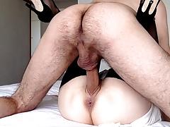 Veliki Penis Za Ovaj Mali Milf