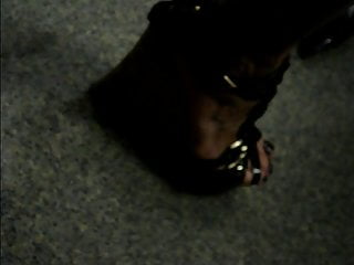 Candid excessive heels #39