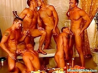 Feasting on swollen dicks...