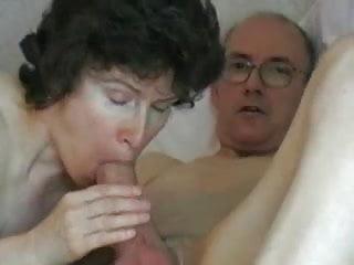 Mature couple grandpa cock...