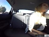 Broke Teen Rachel James fucks for ride facial