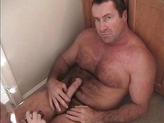 Redneck Hairy Muscle Daddy Jackingoff Bedroom