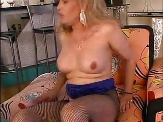 Oral  anal sex with mature hot TS