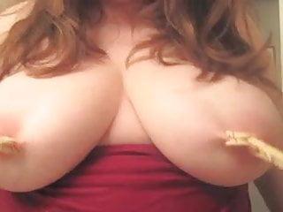 Nipple clothespins