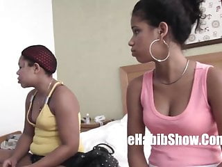 HomegrDominican Lesbian Sex Tape with phat juicy pussy Intro
