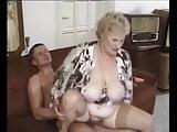 Old church lady getting nasty