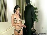 bondage handjob by beautiful Spanish teen