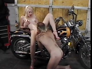 Classic Hot Cougar Banging Biker