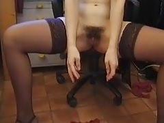 Retro pisi pornó szőrös puncival