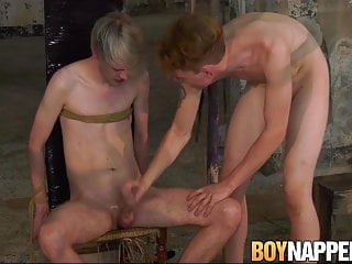 bound young man cums in buckets after being jerked offHD Sex Videos