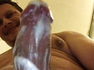 Lotion cock play