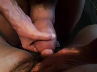 Huge dick docking little cock...