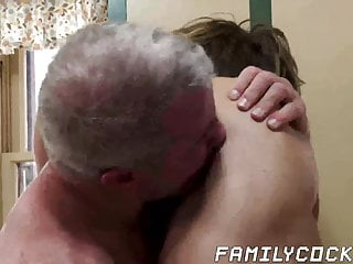 Forbidden sex between jock stepson and his hairy stepdad
